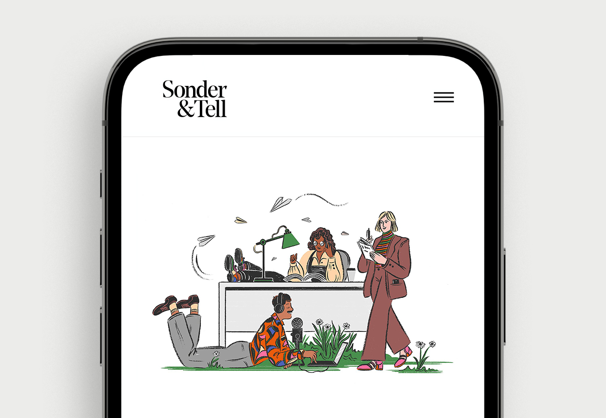 Sonder&Tell: How to write, read and tell better stories